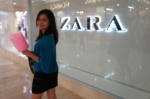 One of my favorites: ZARA and cotton candy.