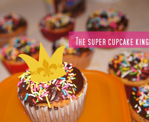The super cupcake king